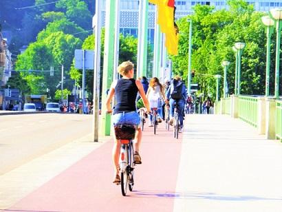 ドイツの通学風景
