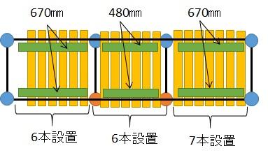 1×4材を下側から固定する