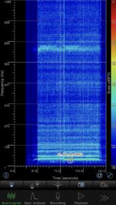 表示の最大周波数を縮めた場合の図